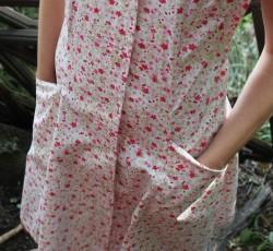 Robe fleurs blche4