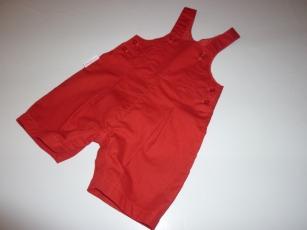 Salopette rouge 1