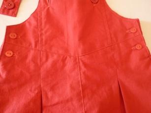 Salopette rouge 2