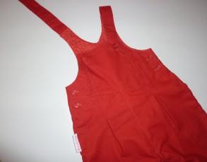 Salopette rouge 3