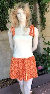 BoQ short orange 1