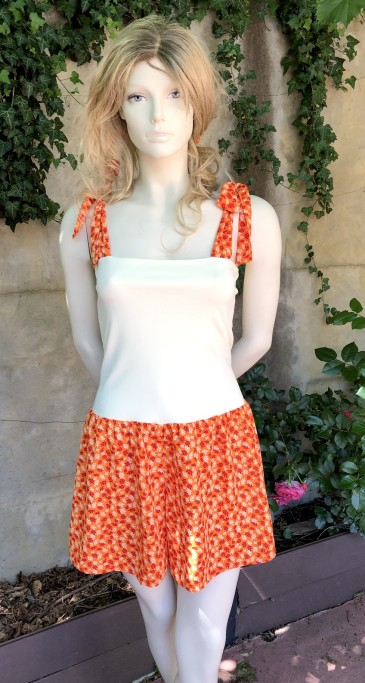 BoQ short orange 1
