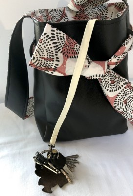 Papillote noir rose 2