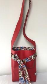 Papillote rouge dalhia 3