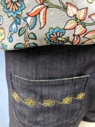 Short jeans noir T36 2