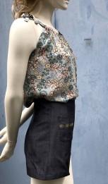 Short jeans noir T36 3